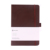 Zhejiang jinhua yiwu labon a5 pu hardcover custom leather notebook with pen holder
