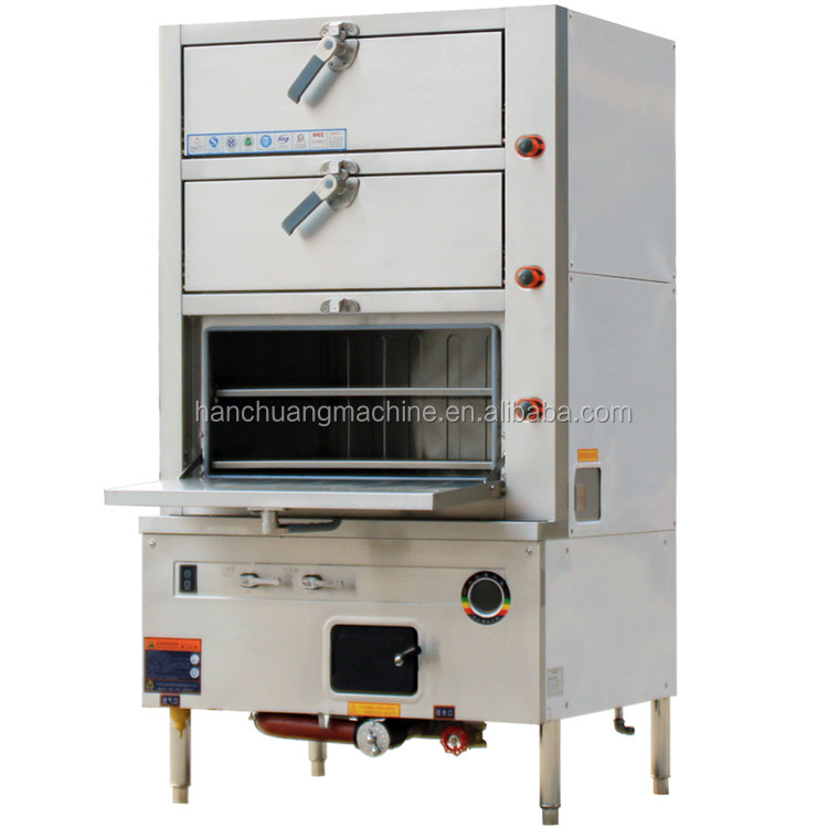 Seafood Restaurant Equipment Kitchen Steam Cabinet Electromagnetism