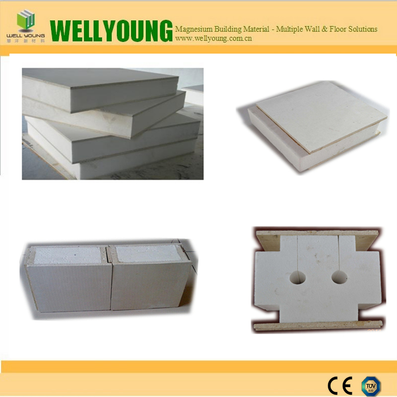 100mm thickness China Roof EPS sandwich panel /mgo sip panel