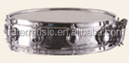 High Grade Snare Drum with hammered Stainless Steel Shell (JSN-031)