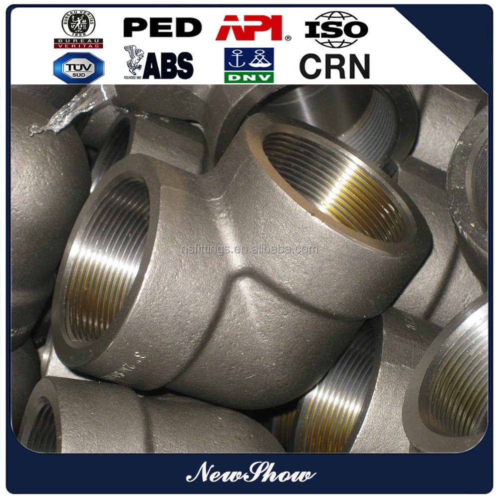 Stainless Steel F 304 Female Threaded Pipe Elbow ansi b16.11
