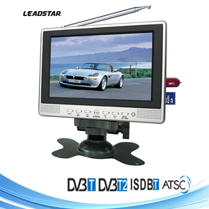 7 inch lcd monitor with usb TV AV-IN/OUT USB SD/MMC, For taxi digital signage Car Rearview Surveillance System