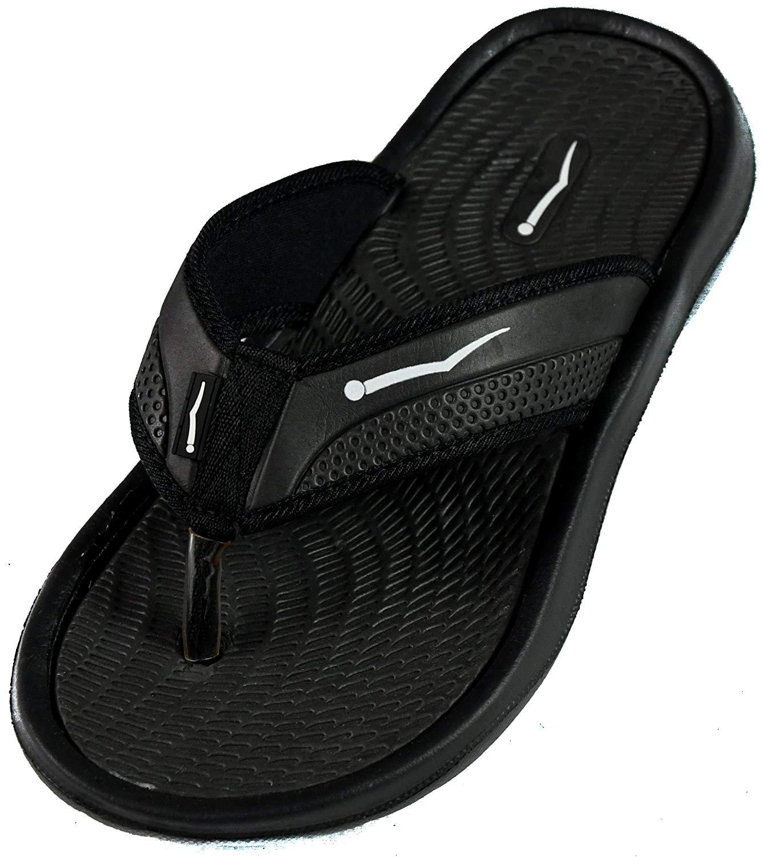 e988d9b7bf6d8 Get Quotations · SLR BRANDS Men s Rubber Comfortable Shower Beach Shoe Slip  on Flip Flop Sandal