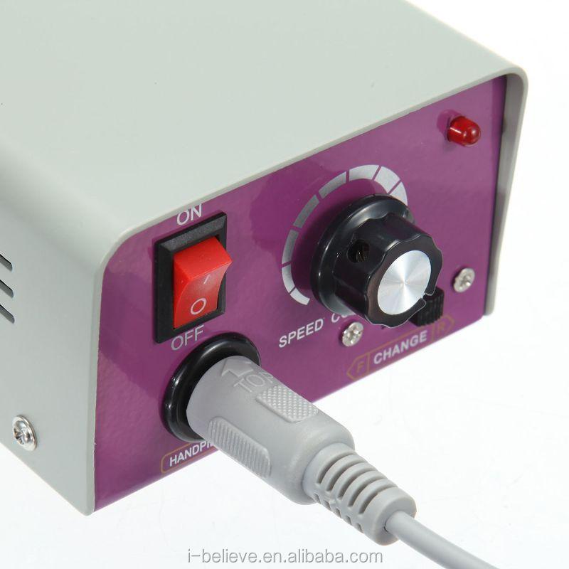 Professional Electric Nail File Acrylic Pedicure Drill Sand Machine Kit Band Set Dremel Rotary Tool