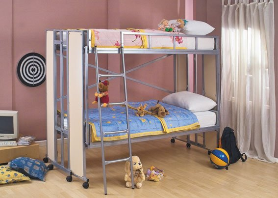 Bunk Bed On Wheels