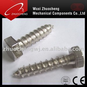 Hex Head Wood Screw / self tapping screw DIN 571