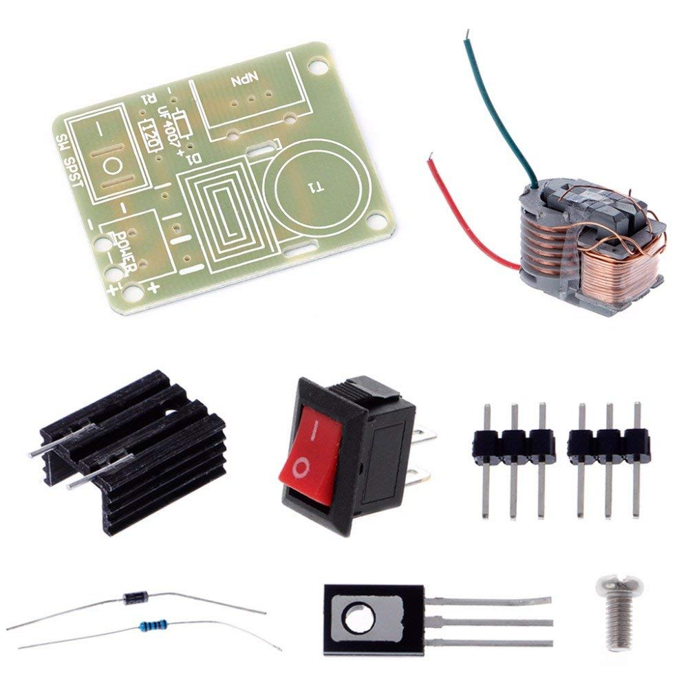 Active Components Integrated Circuits Efficient 15kv High Frequency Dc High Voltage Arc Ignition Generator Inverter Boost Transformer 3.7v Integrated Circuits