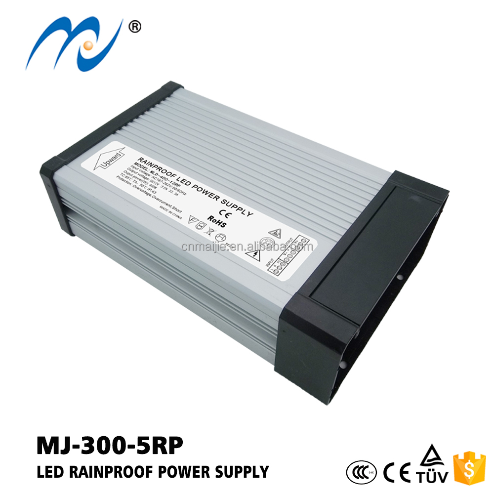 High efficiency above 88% outdoor use 300w 5v led power low consumption