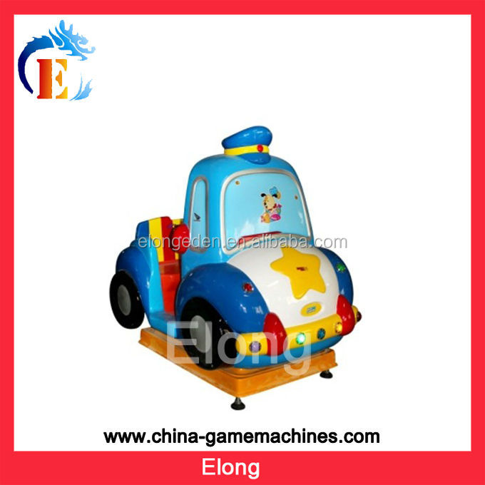 Traffic police car -coin operated Mp4 kiddie rides,kiddy ride machine,kids games