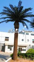 garden landscaping artificial date palm tree seaweed tree for street garden decoration