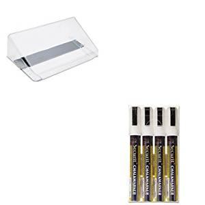 KITDEF73101DEFSMA510V4WT - Value Kit - Deflect-o Letter Size Magnetic Wall File Pocket (DEF73101) and Securit Liquid Chalk Marker (DEFSMA510V4WT)