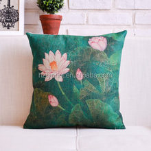 Factory direct digital custom satin cushion cover printing