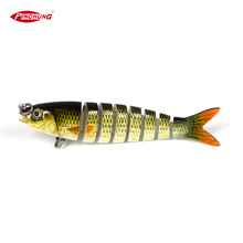 cheap 8.5cm 8g multi jointed fishing lure hard bait