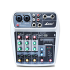 Recentes 2019 Mini 4 Canal Casa USB Audio Mixer Console Com Bluetooth