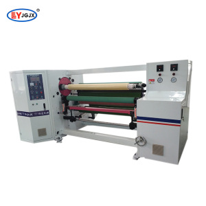 LY 802 fluorescent duxt tape rewinder/insulated aluminum foil tape rewinding machine/non skid anti slip tape rolling machine