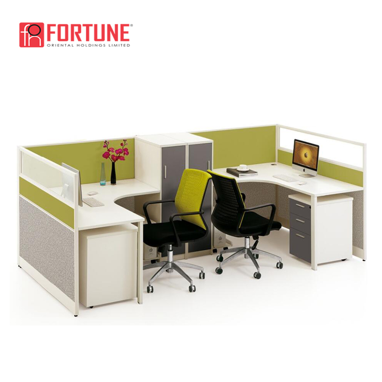 Cheap Price Office Furniture 2 Person 2 Seat Standing