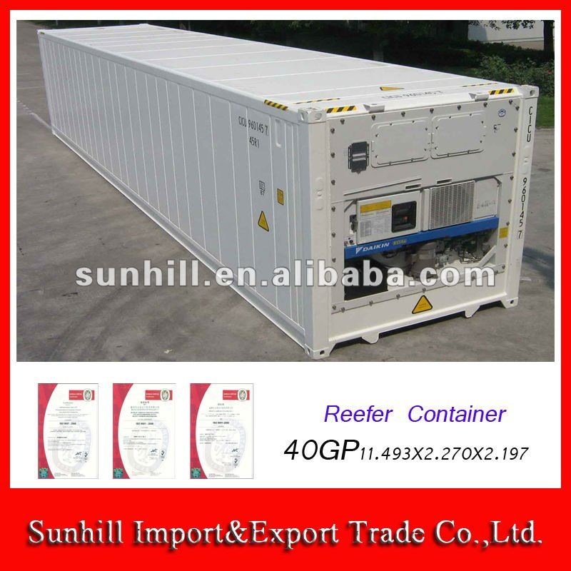 New/Used 40ft Reefer Container in Chongqing Sunhill