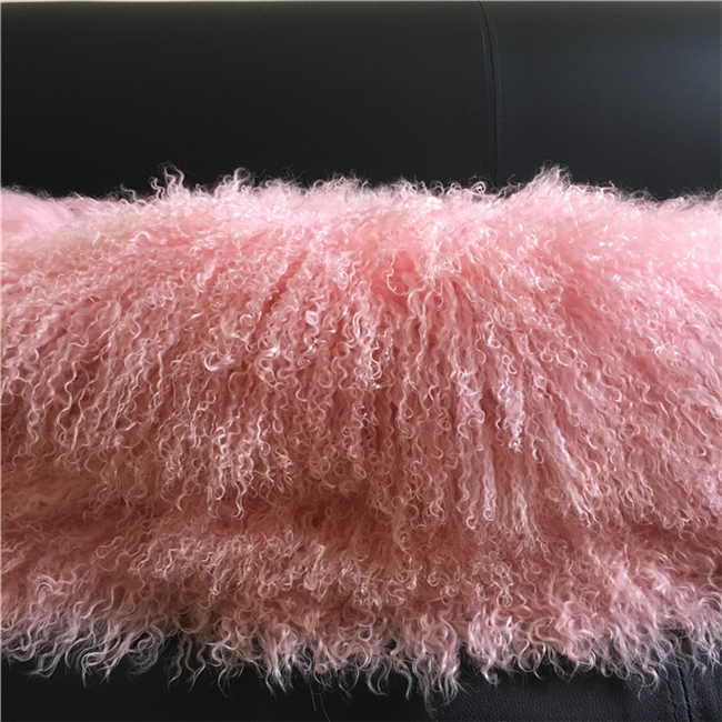 Soft 120x60cm luxury fur throw blanket fur plate rug