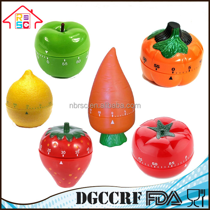 Promotional Plastic Mechanical Kitchen Timer
