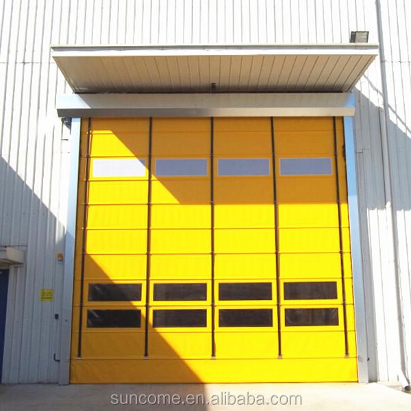 Fast Rolling Automatic Oversize Waterproof Exterior Door