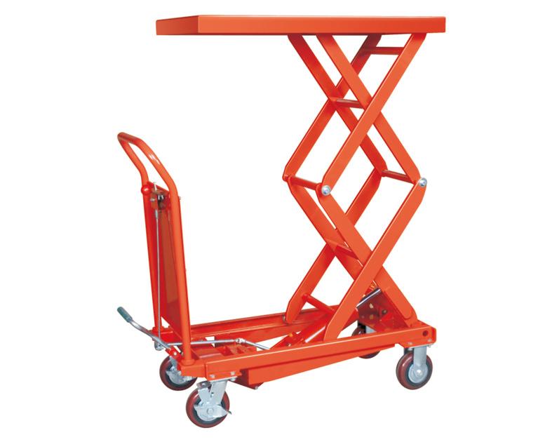 350kg Capacity Portable Hydraulic Scissor Lift Table Cart