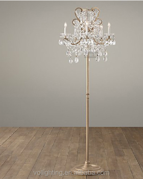 Vintage Wrought Iron Lamp Living Room Floor Lamp Modern Chandelier Floor  Lamp - Buy Cheap Modern Floor Lamps,Floor Standing Lamps,Unique Floor Lamps  ...
