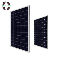 Mono pv solar panel price 340w 350w 360w 24v 5bb in stock for sale best price