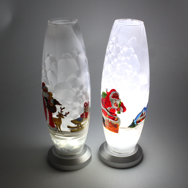 Buy Cheap China Colored Glass Vases With Decoration Products Find