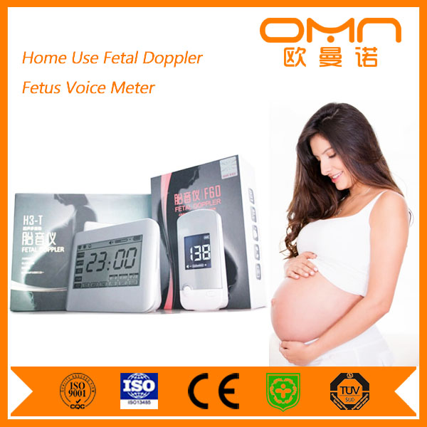 Manufacturer Direct Selling Free Shipping Angelsounds Fetal Doppler Linear Ultrasound Probe Type Mini Pregnancy Test Scanner