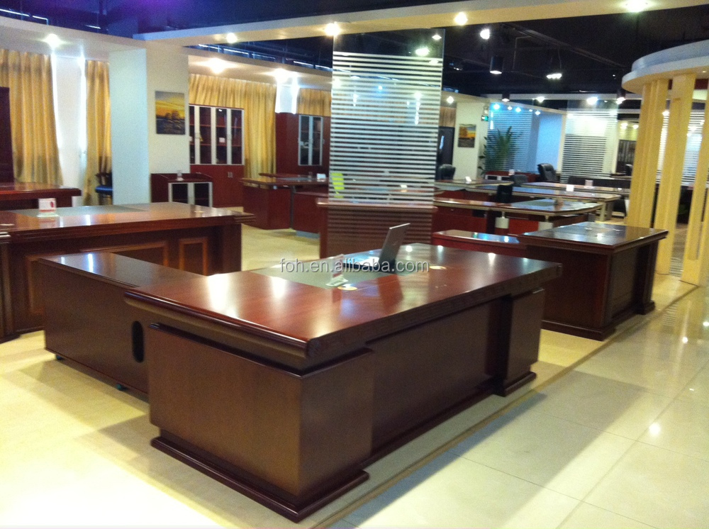 High end executive office furniture luxury unique wooden