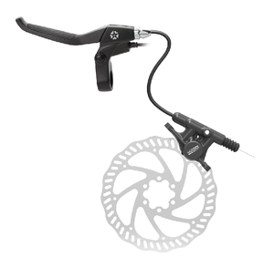 Wuxing Electric Bike Parts Mechanical Brake Lever , half hydraulic disc, good quality ebike conversion kit, accessories.
