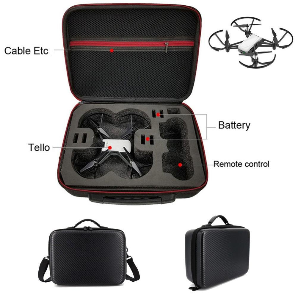 Appoi Shoulder Ba For DJI TELLO Drone,Shoulder Bag Case Protector PU+EVA Internal Waterproof For DJI TELLO Drone Good for Travel