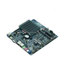 factroy price celeron J1900 fanless 2 lan motherboard mini itx with lvds support 3G wifi