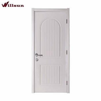 Flush Design Interior Hollow Pvc Door MDF Panel Door Kerala Paint Single  Toilet Door