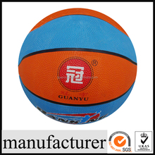 GY-L017 Hot sale Colorful rubber basketball size 3 Factory Direct Supply Low Price