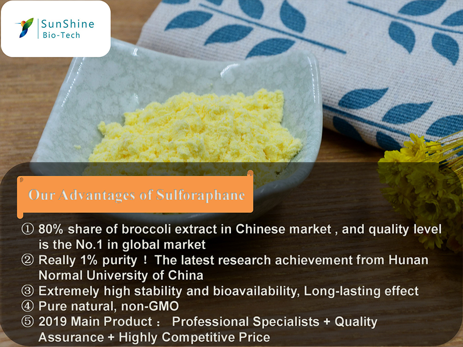 broccoli extract powder10:1 broccoli proportional extract
