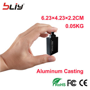 12V DC Fast Ethernet Fiber Optic To RJ45 SC Connector Mini Media Converter Price China For Chassis