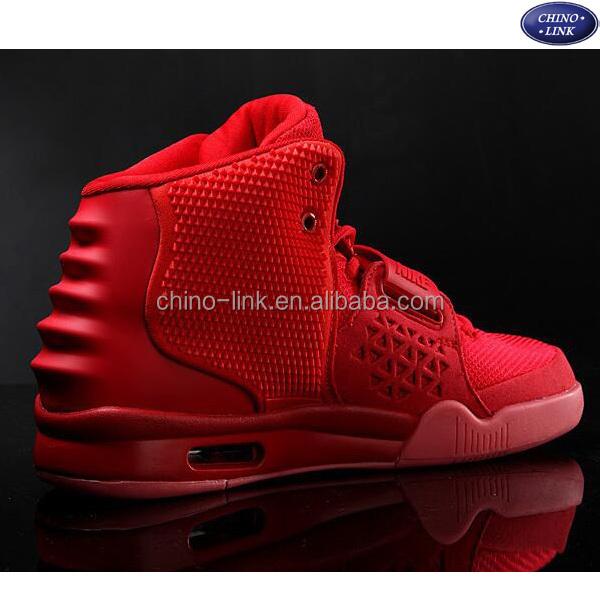 sports basketball luminous high men shoes air red shoes shoes neck Bq1a1ZI