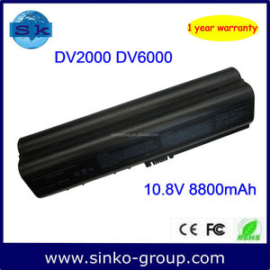 12-cells DV2000 laptop battery for hp 446506-001 HSTNN-DB42 HSTNN-IB42