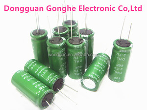 Electric double layer capacito 2.7v 60 farad capacitor on sale