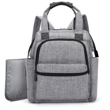 53d609911d9 Waterproof Oxford Diaper Bag for Mom Dad Trendy Diaper backpack baby diaper  bag Carry baby bag. View larger image