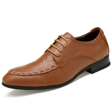 ZY1728A high quality men shoes genuine leather
