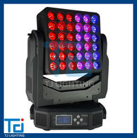 RGBW 4in1 Moving head light, 36*15W Matrix led moving head, Professional moving head