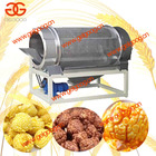 Puffed Popcorn Production Line|Semi-automatic Caramel or Chocolate Coating Popcorn Machine|Popcorn Sieving Machine