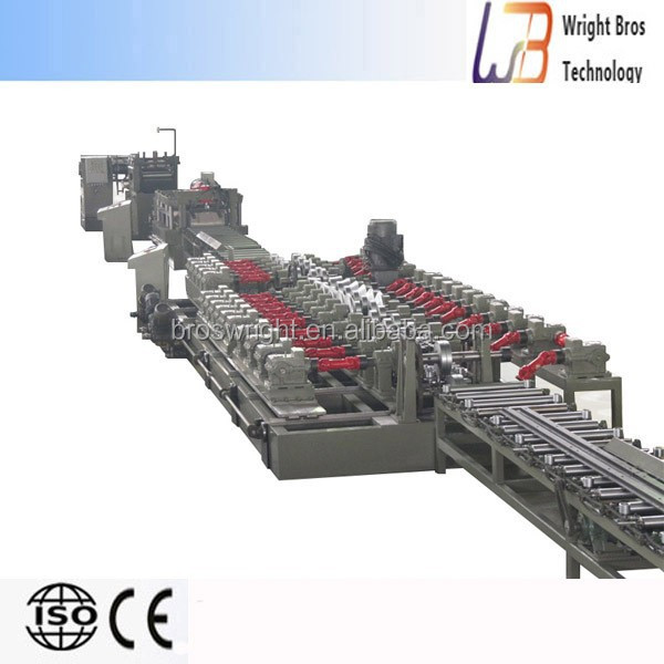 European standard high quality c z purlin cold roll forming machine