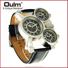 Oulm factory multi zone watch, wrist watches hotsale, men watch quartz