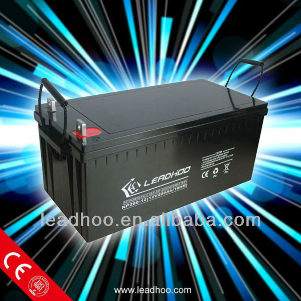 deep cycle long life small rechargeable 12v battery