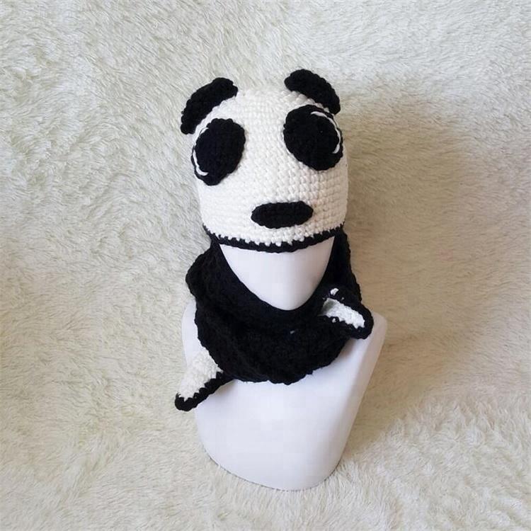 Encuentre el mejor fabricante de gorro panda tejido a crochet y ...