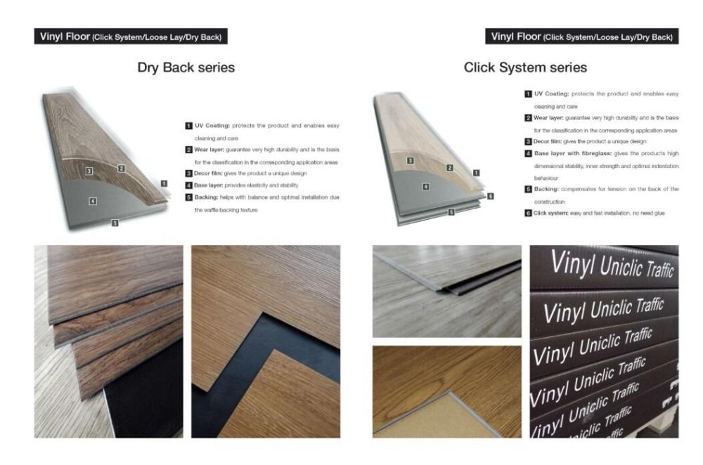 Checker plaat vinyl vloeren effen kleur vinyl vloeren zware vinyl