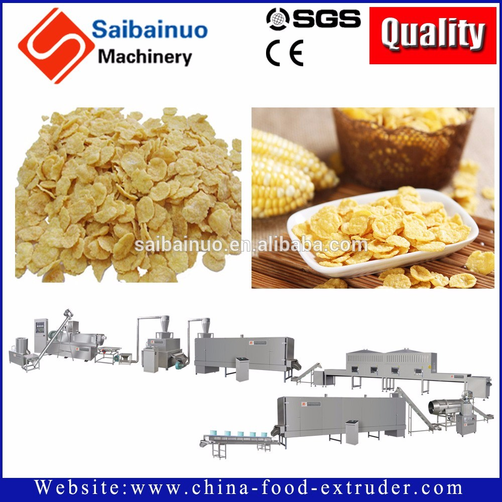 chocos corn flakes making machine